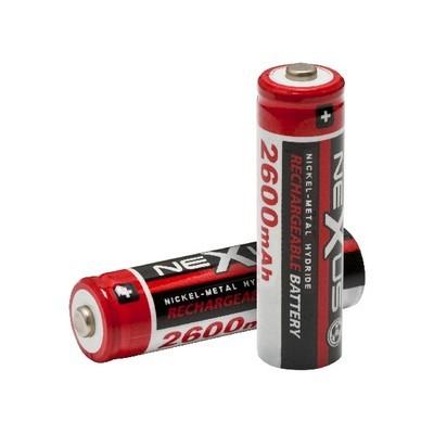 Akkumulátor tölthető 2600mAh Ni-MH (AA) NeXuS 18506 2db