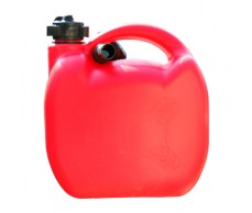Üzemanyag kanna  5L műanyag piros 480Gr.25332 (német-sz