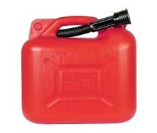 Üzemanyag kanna 10L műanyag piros 17333(német-sz)