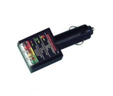 Akkumulátor teszter LED-es szivargyújtós Lampa74060
