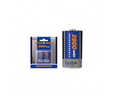Akkumulátor tölthető N2000D 2db góliát1,2V/2000mAh Ni