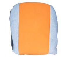 Üléshuzat betétes, narancssárga +4db fejtámlahuzat