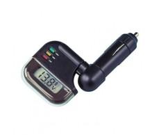 Akkumulátor teszter digit,led 12/24Vszivargy.Lampa74061