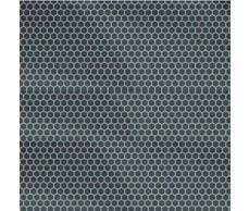 Ablakfólia 20x150cm méhsejt mintás fekete Lampa75306