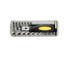 Dugókulcs készlet 20+2db racsnis,gumis CS4455A