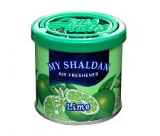 Illatosító My Shaldan lime (Gel-zselés,Japán) 80gr.