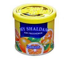 Illatosító My Shaldan lemon (Gel-zselés,Japán) 80gr.