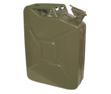 Üzemanyag kanna 20L fém, keki zöld (marmon)