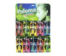 Illatosító Paloma Duo Parfüm 30db,táblán,vegyes(display