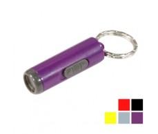 Elemlámpa  1LED mini35mm/10mm,kulcskarikával Coney08336