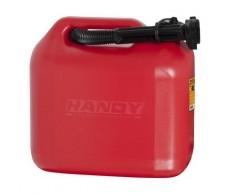 Üzemanyag kanna 10L műa. piros+kiöntő szintjelzős 10891