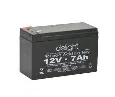 Akkumulátor 12V 7Ah zselés DELIGHT 18521 66x150x94
