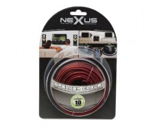 Hangszórókábel piros-fekete TP2x1,0mm 10m NeXuS20024x10