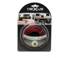 Hangszórókábel piros-fekete TP2x0,5mm 10m NeXuS20026x10
