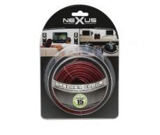 Hangszórókábel piros-fekete TP2x0,5mm 15m NeXuS20026x15