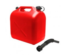 Üzemanyag kanna 20L műa. piros+kiöntő HT10892B