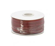 Hangszórókábel piros-fekete 2x0,75mm 100m NeXuS 20083