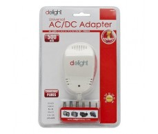 Adapter 230V 3-12V DC 500mA Delight 55034